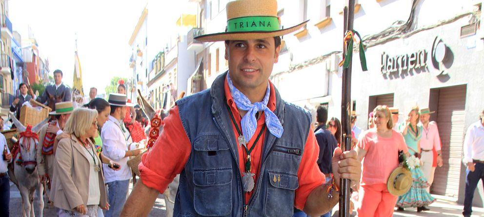 Foto: El torero Francisco Rivera en una imagen de archivo durante El Rocío (Gtres)