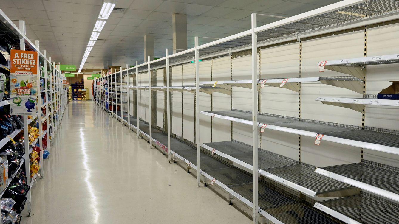Foto: Estanterías vacías en un supermercado de Sydney (Australia). (Reuters)