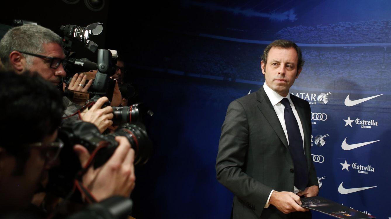Detenido Sandro Rosell por lavar 15 millones de la venta de derechos del fútbol brasileño