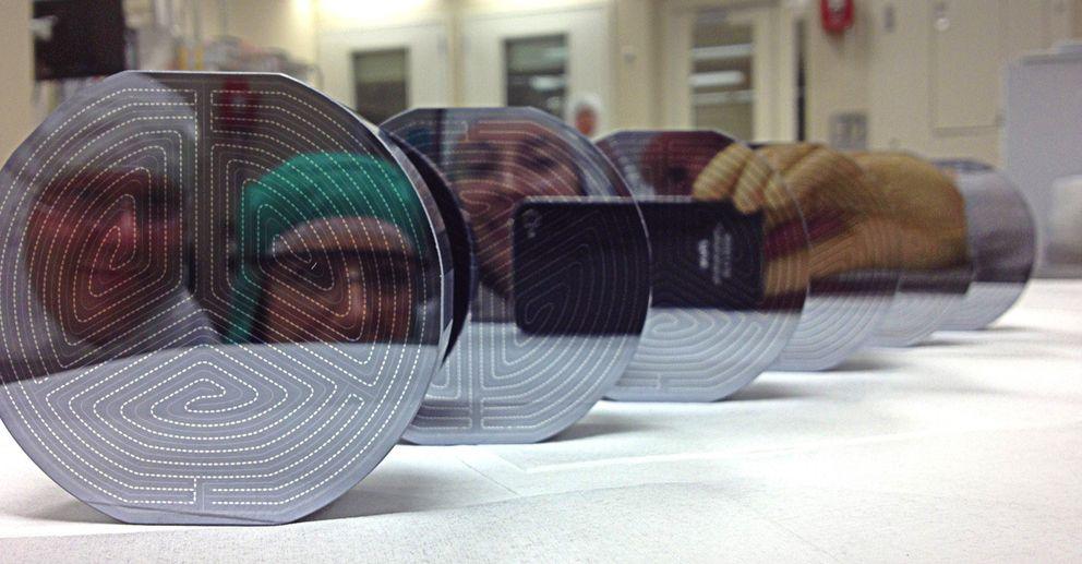 Foto: Los nuevos detectores de materia oscura (Fotografía CDMS).