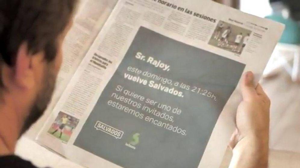 Foto: El anuncio de 'Salvados'.