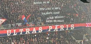 Post de Mbappé se enfrenta a la afición del PSG por una pancarta: