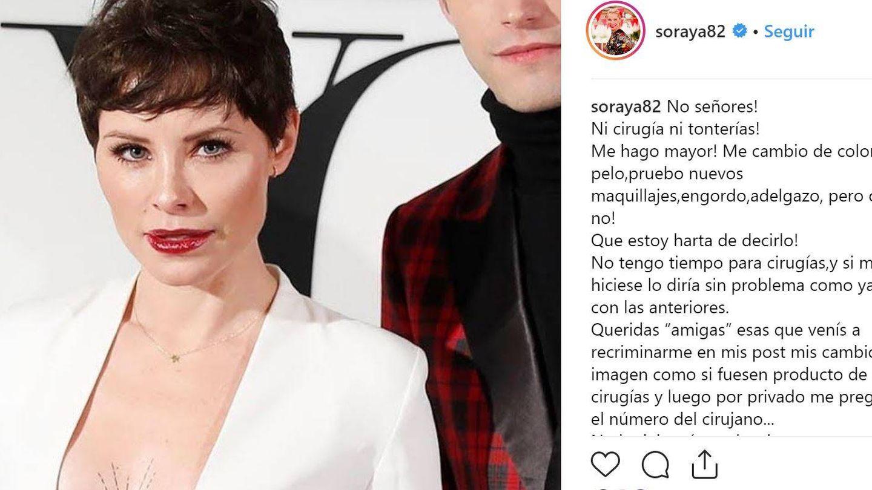 Soraya Arnelas. (Instagram)