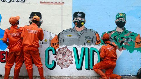 La devastadora ola de coronavirus en Indonesia se ceba con los niños