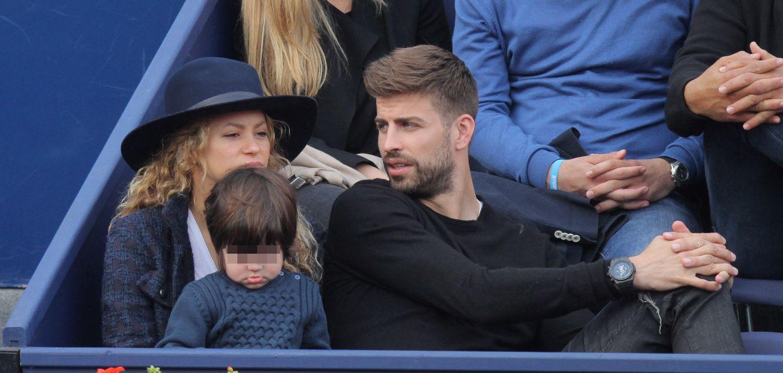 Foto: Milan Piqué, un pequeño aficionado al tenis