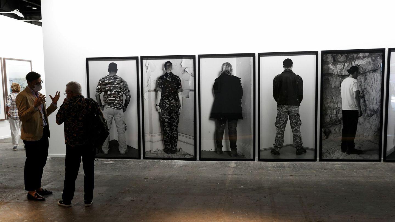 Fotografías de Santiago Sierra, de la Galería Helgar de Alvear (EFE)