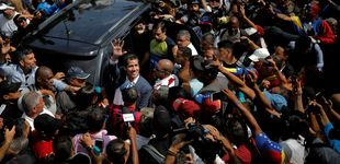 Post de Trump amenaza otra vez con una operación militar y Guaidó tiende la mano a China