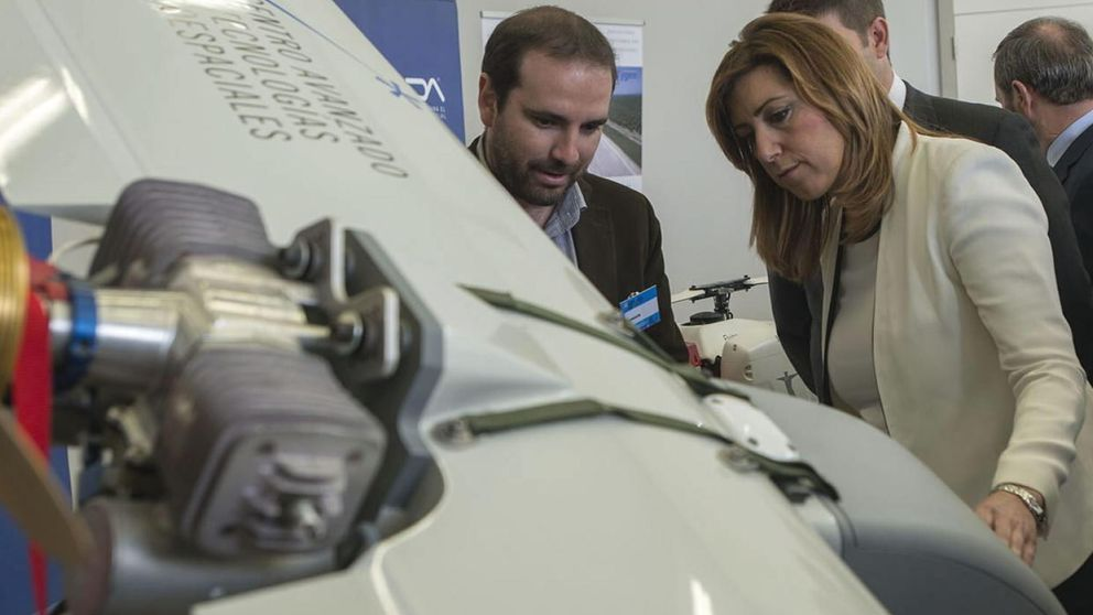 La Junta hace un aeródromo junto a Doñana para drones que no existen