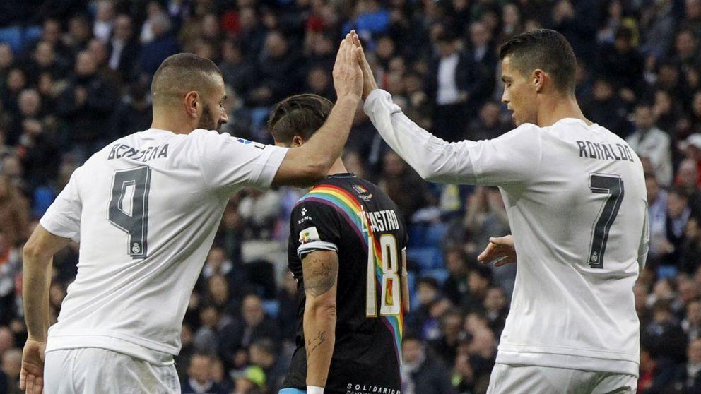 Zidane abraza con cariño a la BBC, pero hacerla correr será su gran desafío