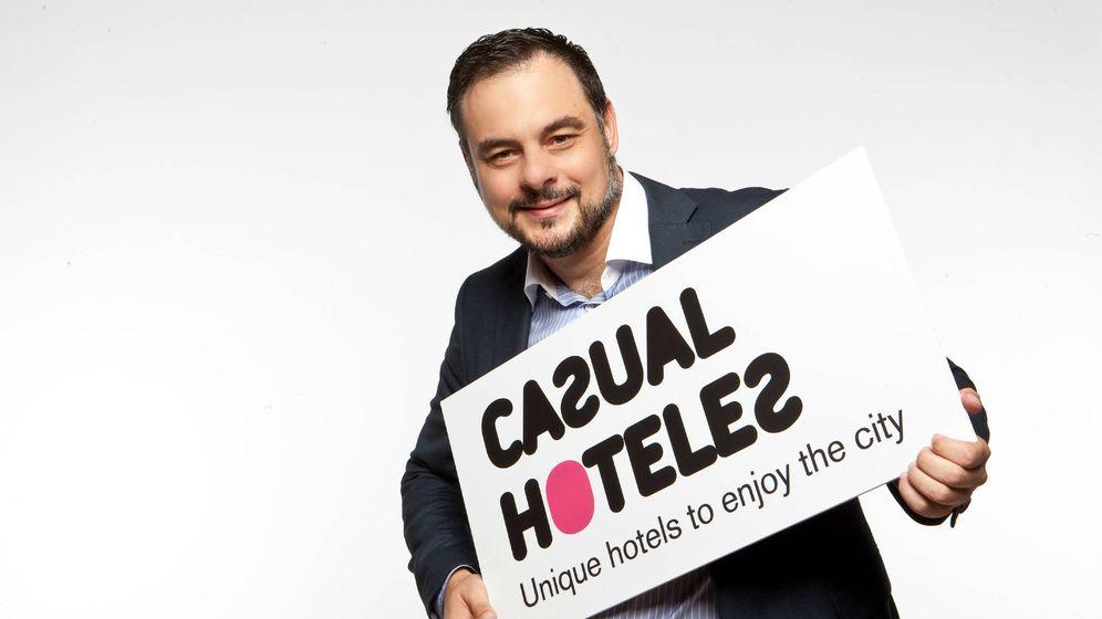 Foto: El dueño de Casual Hoteles, Juan Carlos Sanjuán.