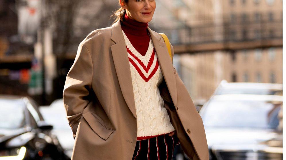 Foto: La influencer Gala González, con el pantalón de tendencia. (Imaxtree)