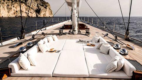 Aquarius, un velero clásico de lujo para dar la vuelta al mundo