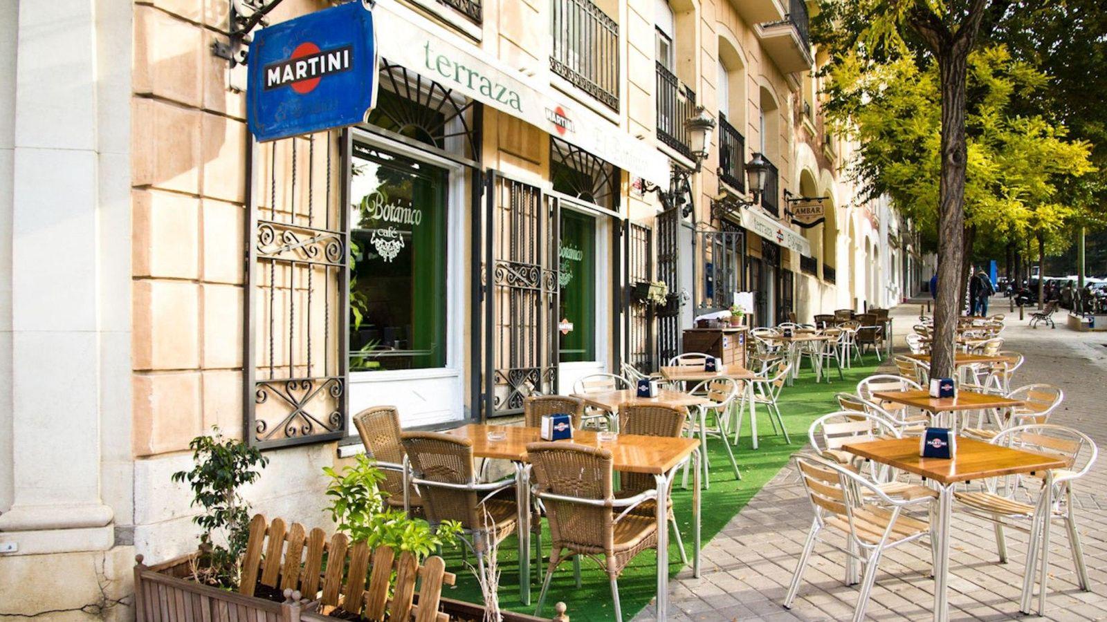La terraza y la cocina de el bot nico en madrid - La cocina madrid ...