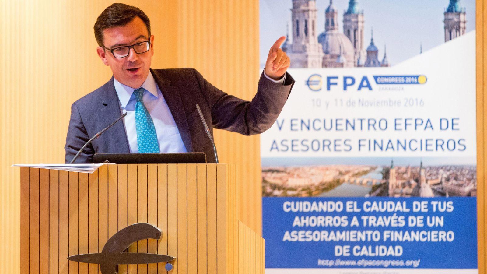 Foto: Fotografía de archivo del nuevo ministro de Economía, Román Escolano. (EFE)