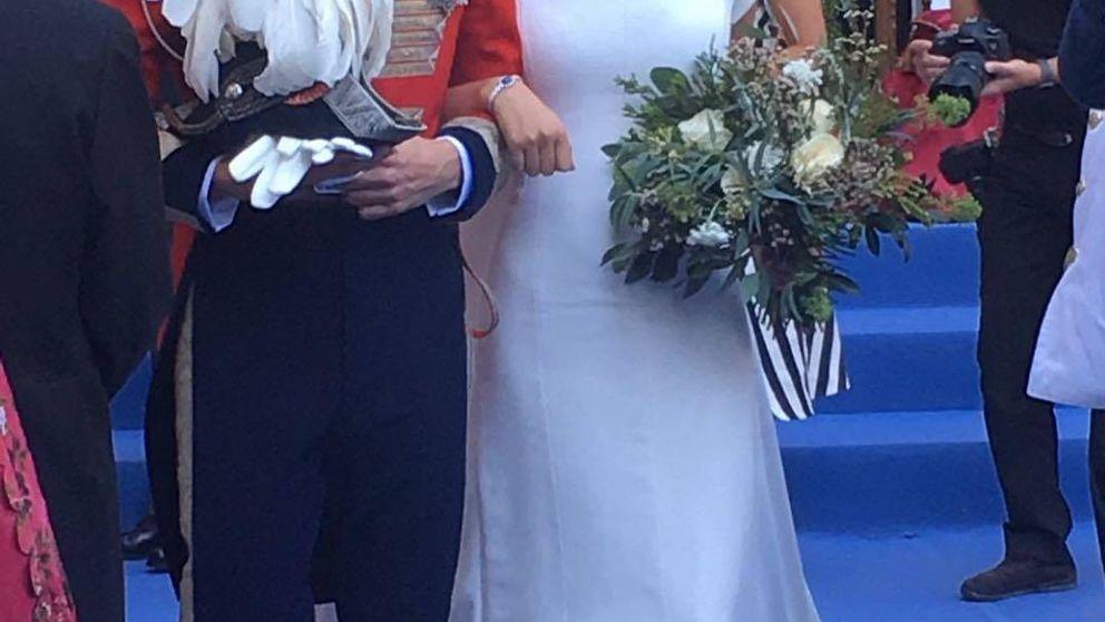 Sofía Palazuelo: tenemos las primeras fotos de su vestido de novia