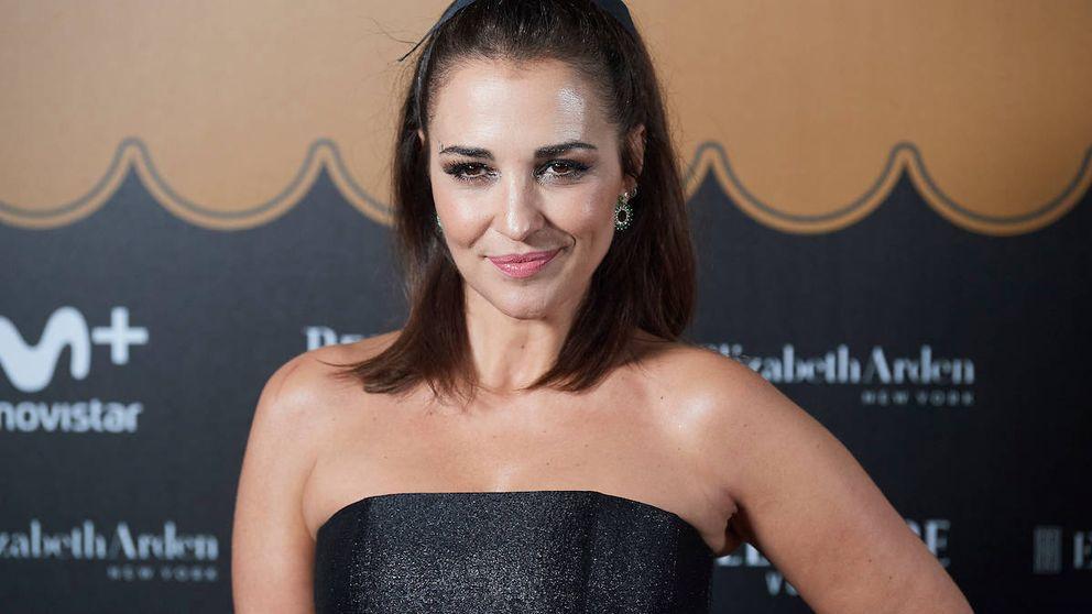 Paula Echevarría se une al abrigo blanco más viral: el de Dulceida de Primark