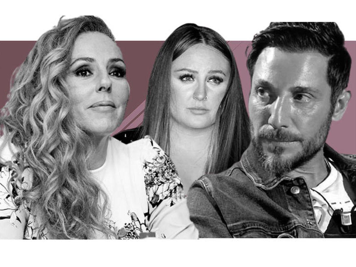 Foto: Rocío Carrasco, Rocío Flores y Antonio David Flores, en un montaje de Vanitatis.
