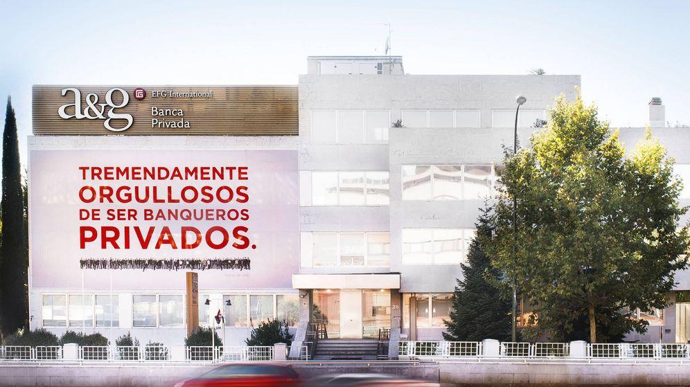Foto: Sede de A&G Banca Privada