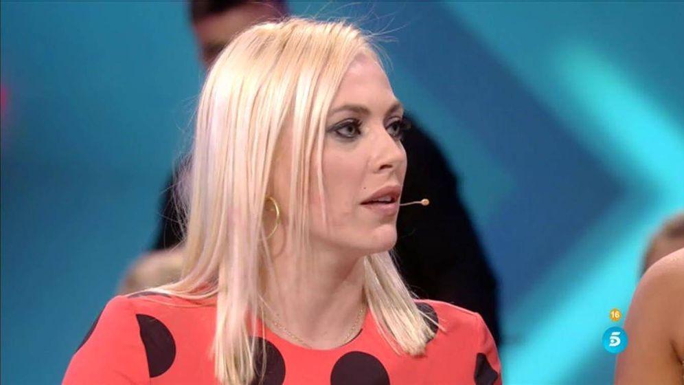 Foto: Daniela Blume en el plató de 'GH VIP 5'