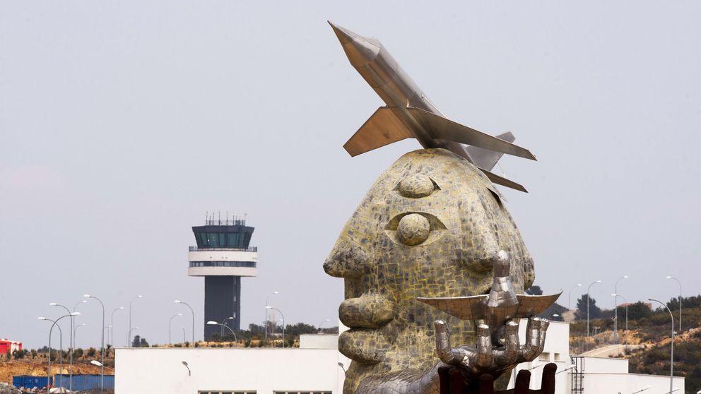 El Aeropuerto de Castellón ya tiene aviones… pero sobrevive con el FLA