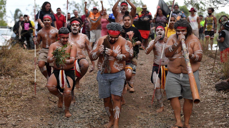 Manifestación aborigen