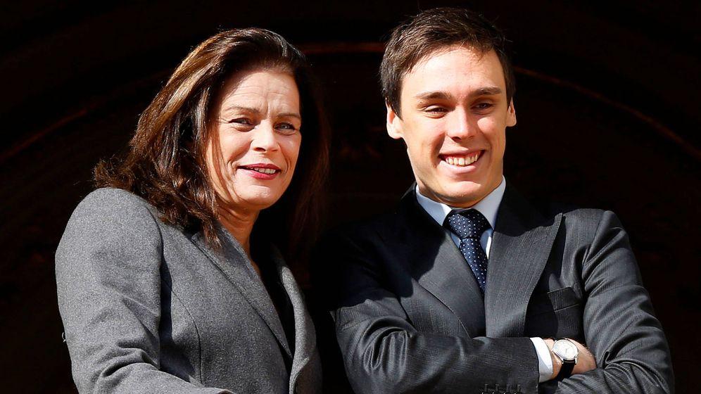 Foto:  Estefanía, con su hijo, Louis Ducruet. (Reuters)