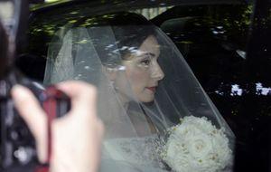 Alfonso Díez, desubicado en la boda del nieto de la duquesa