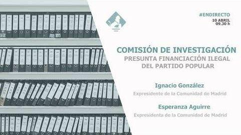 Siga en directo la comisión de investigación de la presunta financiacion ilegal del PP