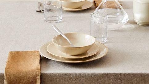 Manteles de lino para darle estilo a tu mesa en Zara Home, Ikea y La Redoute