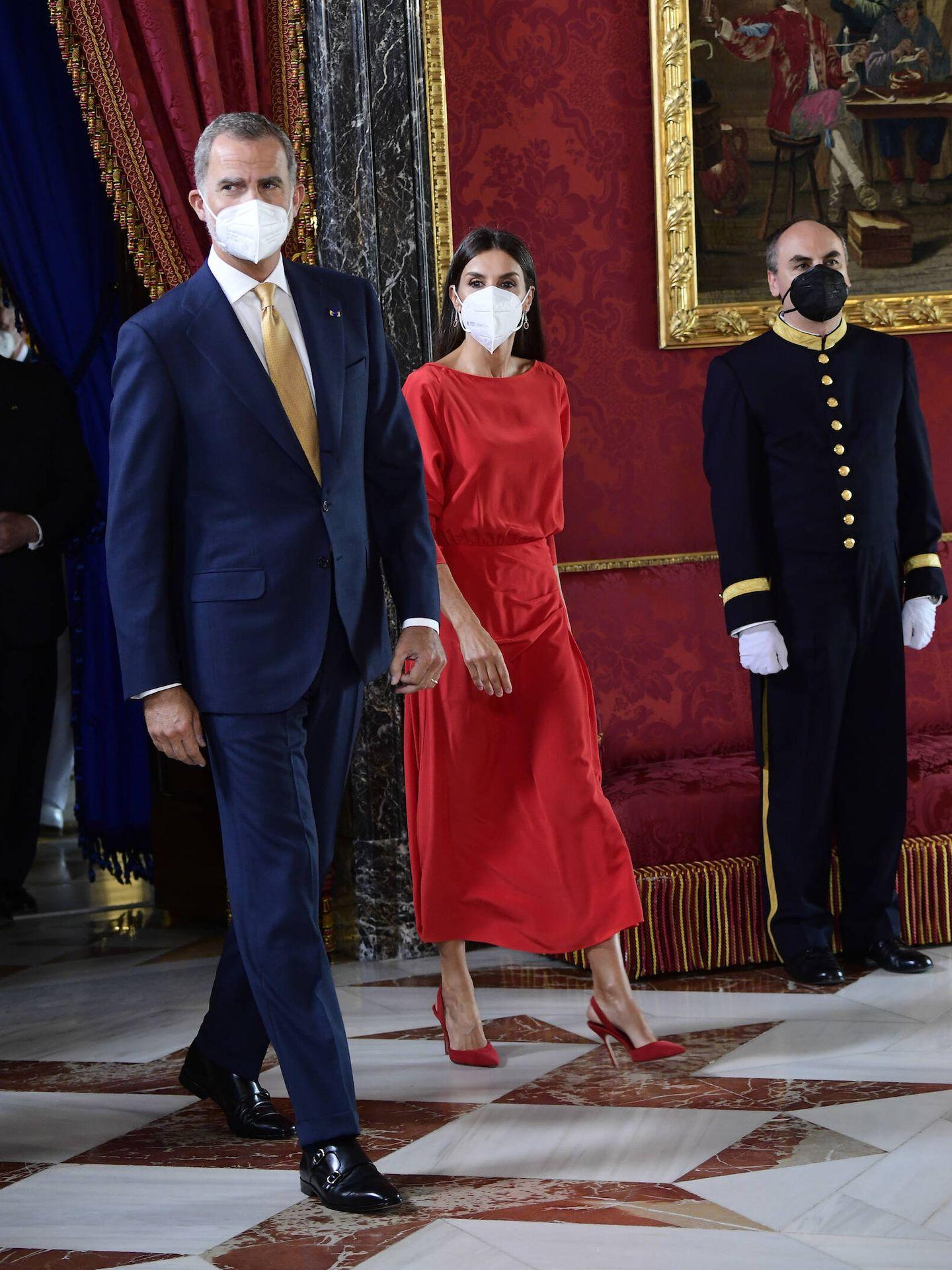 Los Reyes, en el Palacio Real. (Limited Pictures)