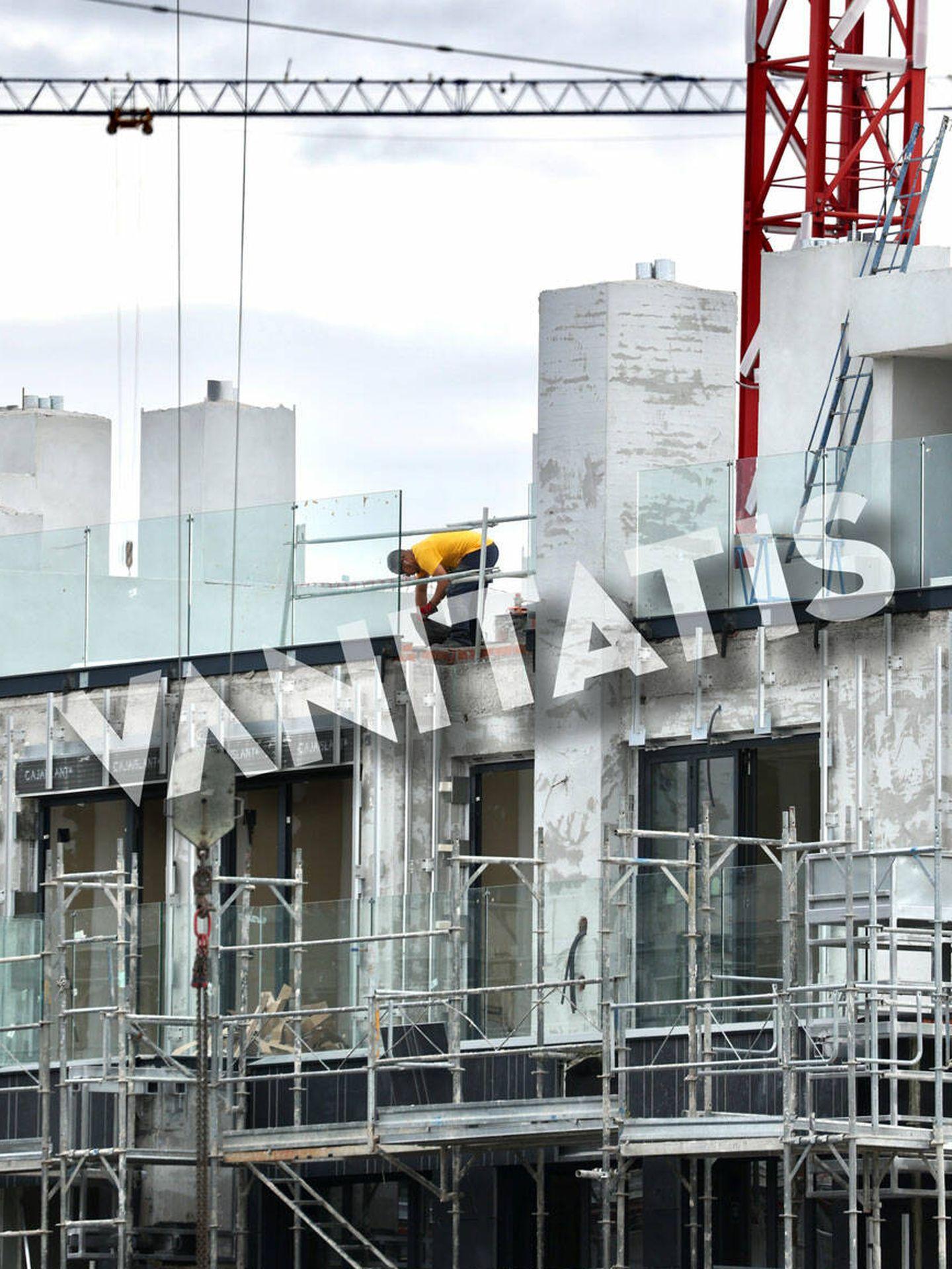 Pronto veremos la fachada del edificio. (José Martín)