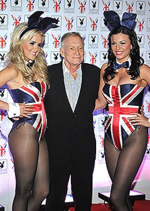 Las 'conejitas' de Playboy regresan a Londres
