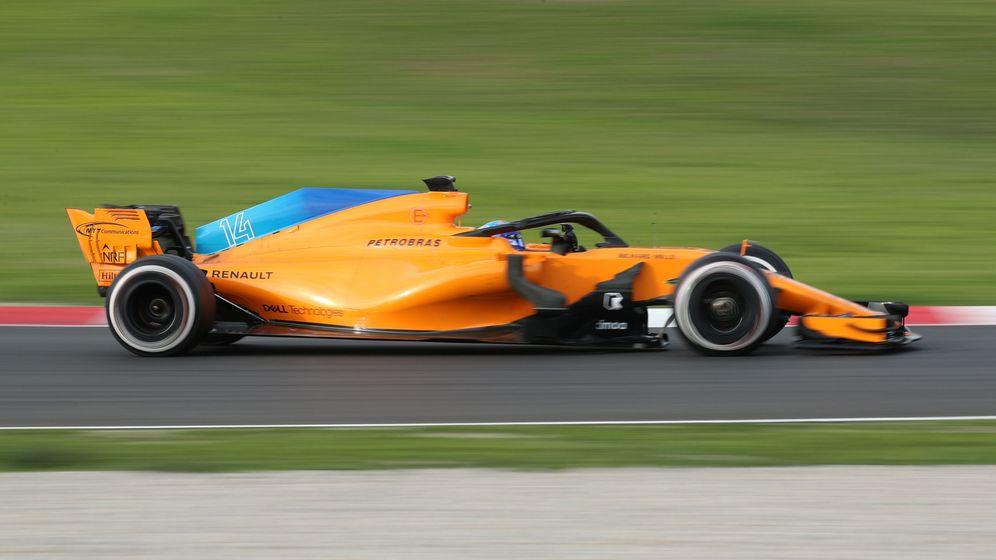 Foto: Alonso finalizó con buen sabor de boca la pretemporada. (Reuters)
