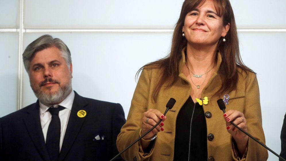 Foto: Laura Borràs. (EFE)