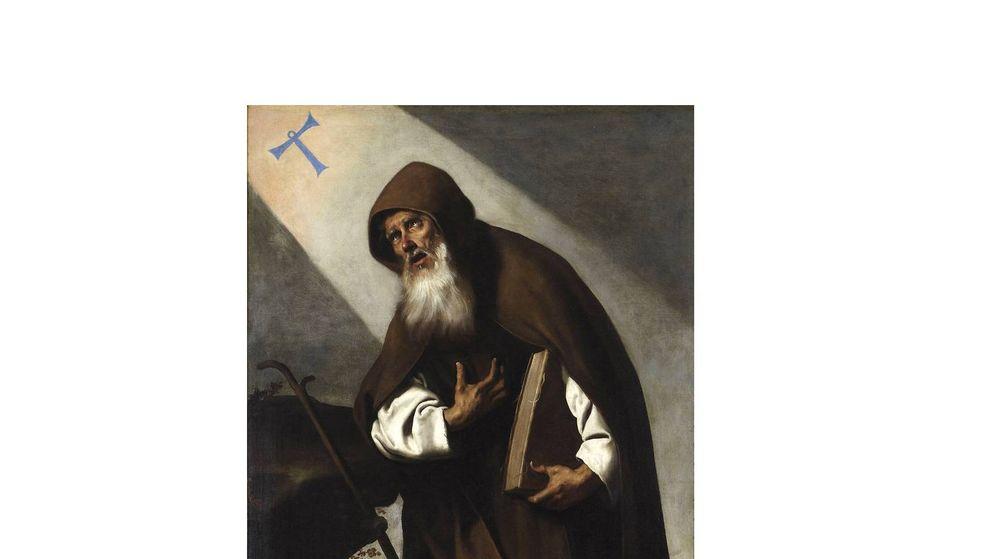 Foto: 'San Antonio Abad', por Francisco de Zurbarán. Foto: CC