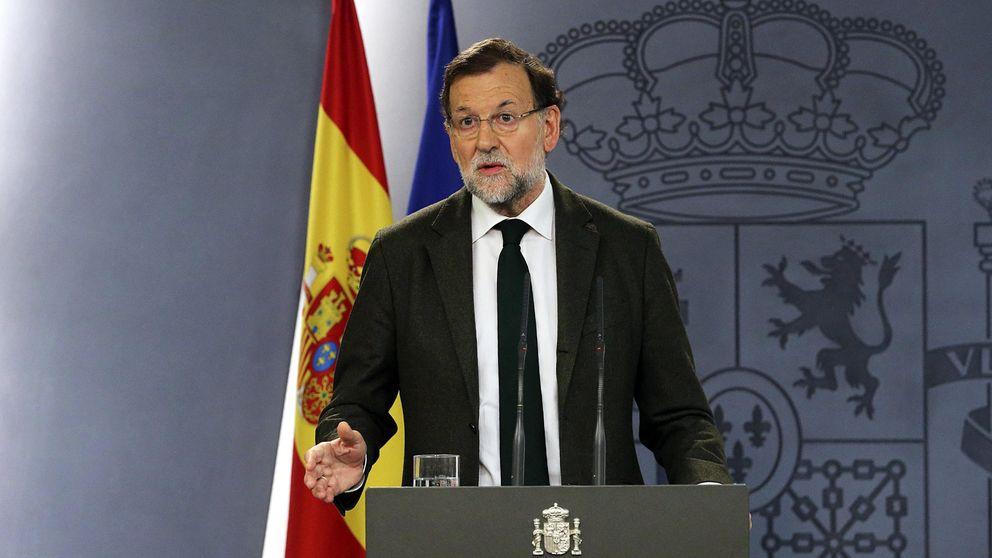 """Rajoy, satisfecho: """"La mayoría (PP, PSOE y C's) defiende la unidad de España"""""""