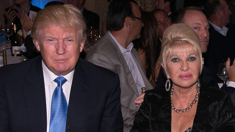 Donald e Ivana Trump, en una imagen de 2014. (Getty)