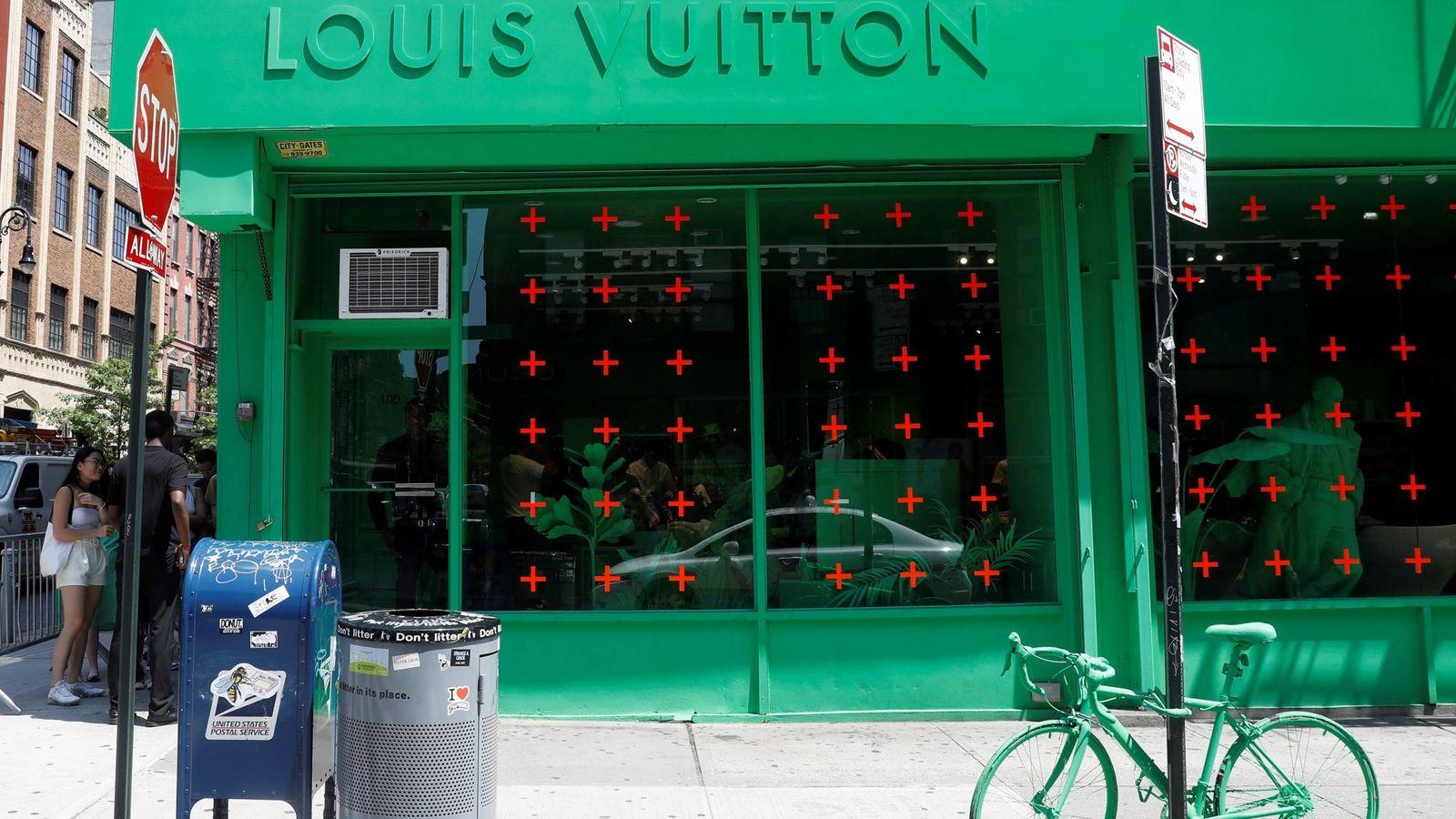 Foto: Una tienda de Louis Vuitton en Manhattan. (Reuters)