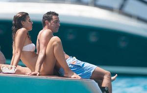 Xavi y su mujer celebran su primer aniversario de boda en Ibiza