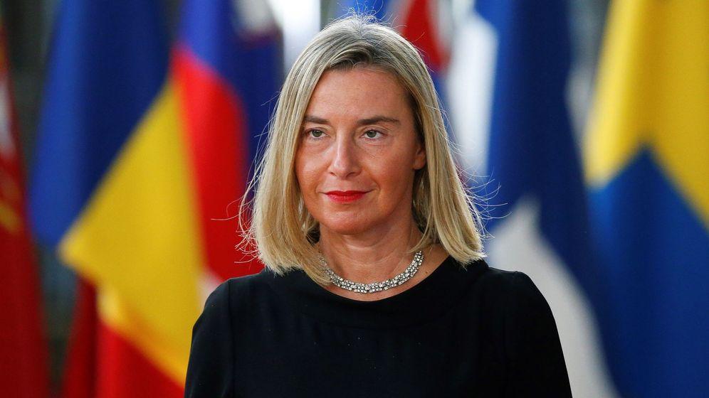 Foto: Federica Mogherini, alta representante de la UE para Exteriores. (EFE)