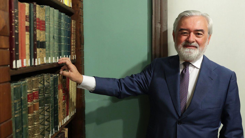 Darío Villanueva, el director saliente de la RAE. (EFE)