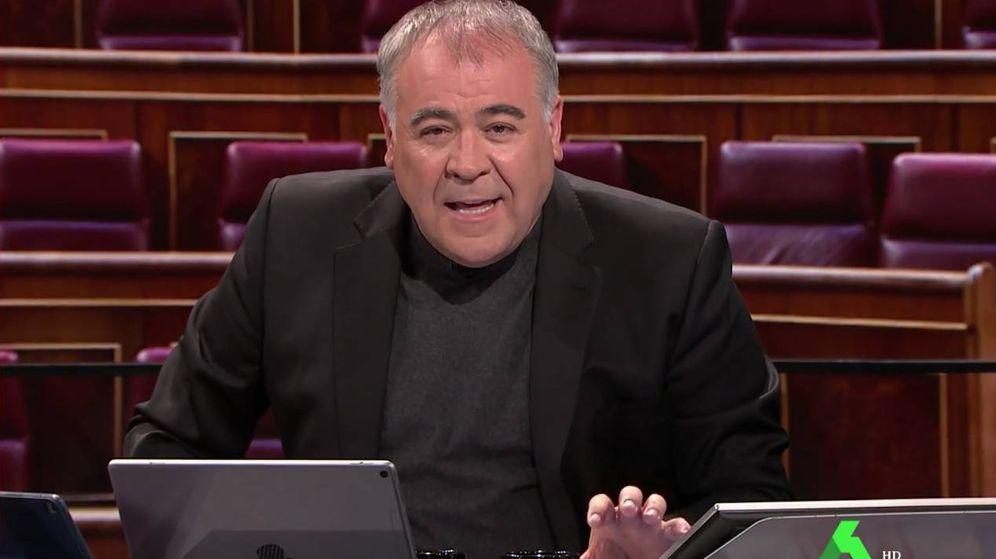 Foto: El presentador Antonio García Ferreras. (Atresmedia)