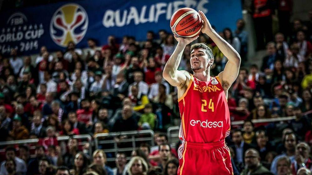 Foto: Darío Brizuela fue el máximo anotador de España (18 puntos) en Turquía. (Foto: FIBA)