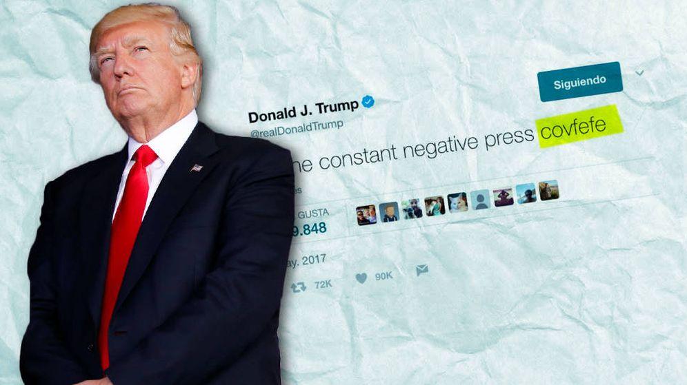 Foto: Donald Trump y su 'covfefe' han generado debate