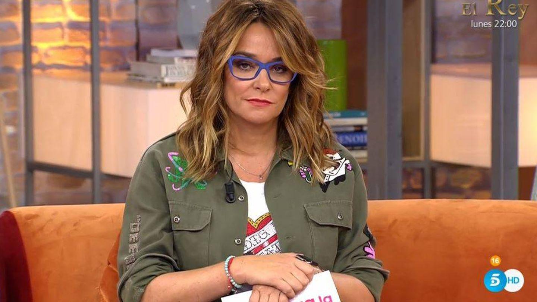 Toñi Moreno, en 'Viva la vida'. (Telecinco)