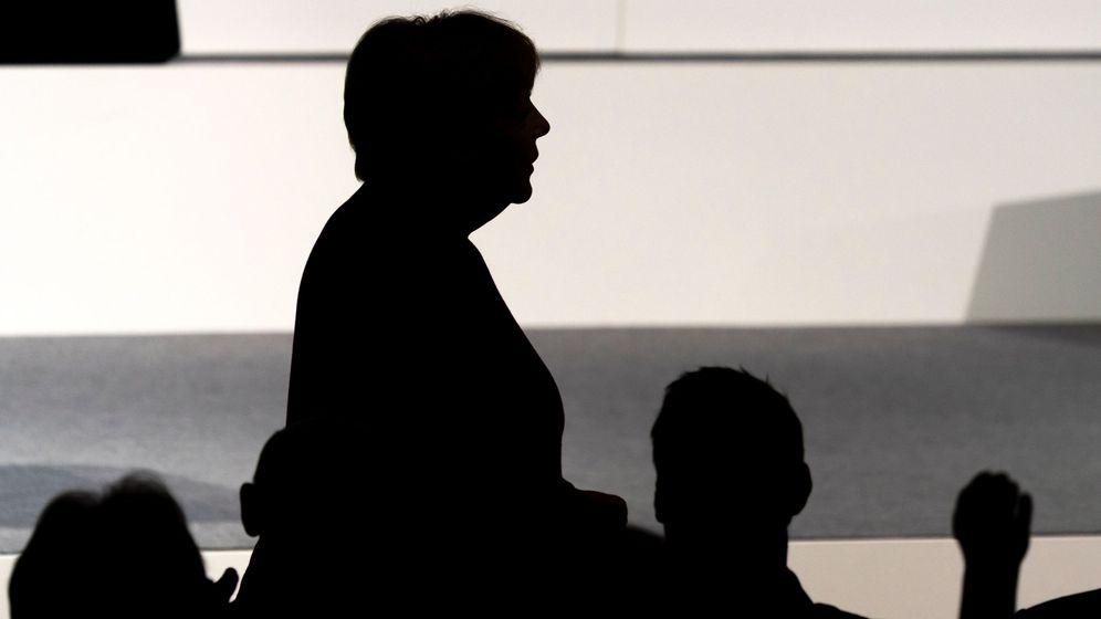Foto: Angela Merkel, canciller alemana, durante una conferencia en 2019. (EFE)