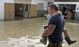 Cuarenta provincias, en alerta, seis de ellas por riesgo importante de lluvia o viento