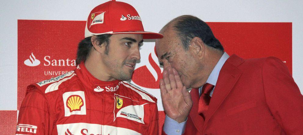 Cómo la Fórmula 1 convirtió al Banco Santander en una marca global