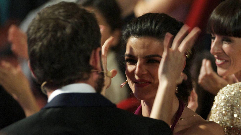 Dani y Clara, en los Goya 2015. (Getty)