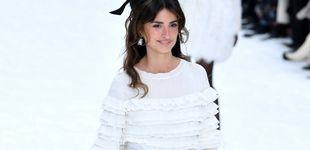 Post de Penélope Cruz, modelo por sorpresa en el último desfile de Lagerfeld para Chanel